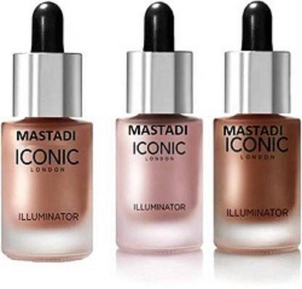 Mastadi Professional ICONIC london Illuminator (shine,glow,origina) Highlighter (Shine) Highlighter (SIMAR) Highlighter