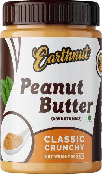 Earthnut Classic Crunchy Peanut Butter Sweetened 500 g