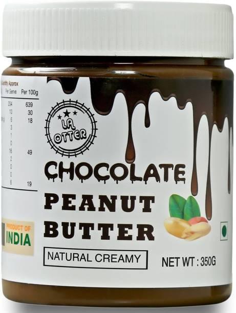 LA OTTER Chocolate Peanut Butter (Creamy) 350 g 350 g