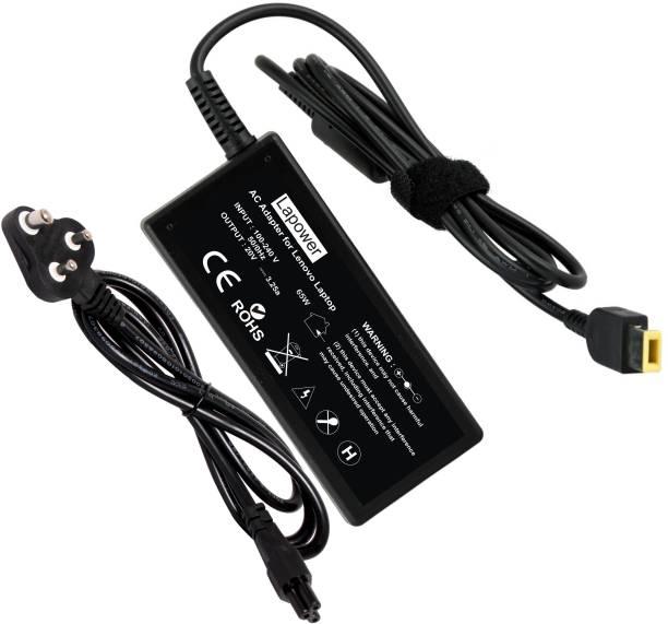 Lapower Laptop Charger Lnovo FLEX 2 14, Flex 2 14 Flex 2 15 (USB Slim Pin) 65w 65 W Adapter