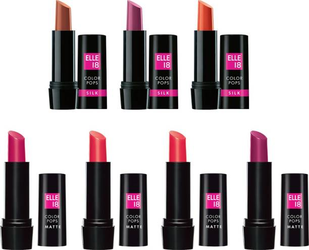 ELLE 18 Color Pops Lipstick Combo
