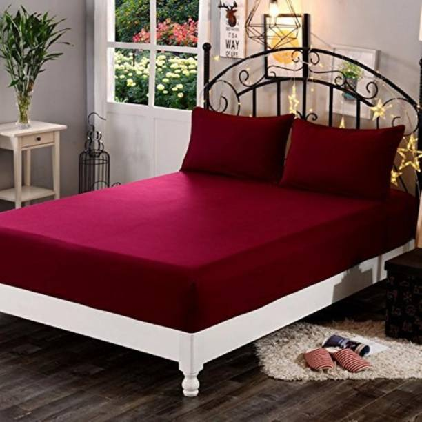 SIE STORE Fitted Double Size Waterproof Mattress Cover