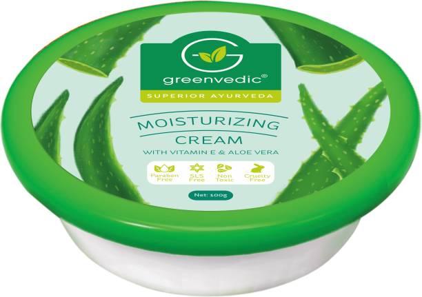 GreenVedic Moisturizing cream with Vitamin E and Aloe vera