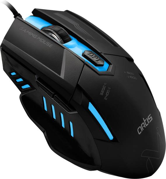 artis FALCON Optical Gaming Mouse Wired Optical Mouse
