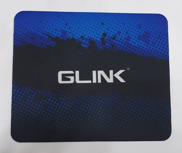 Glink blue-black dotted print Mousepad