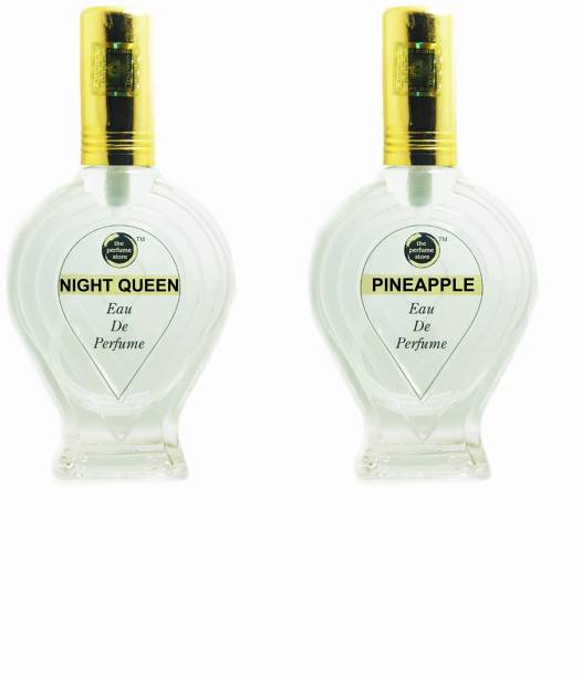 The perfume Store NIGHT QUEEN , PINEAPPLE (REGULAR PACK OF TWO) Eau de Parfum  -  120 ml