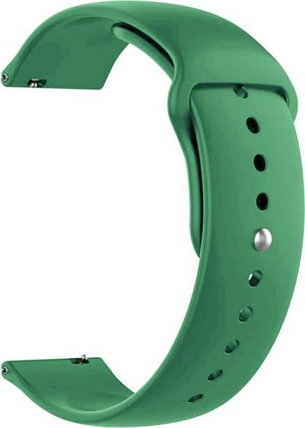ACM Watch Strap Silicone Belt 20mm for Motorola Moto 360 42mm ( Smartwatch Sports Band Green) Smart Watch Strap