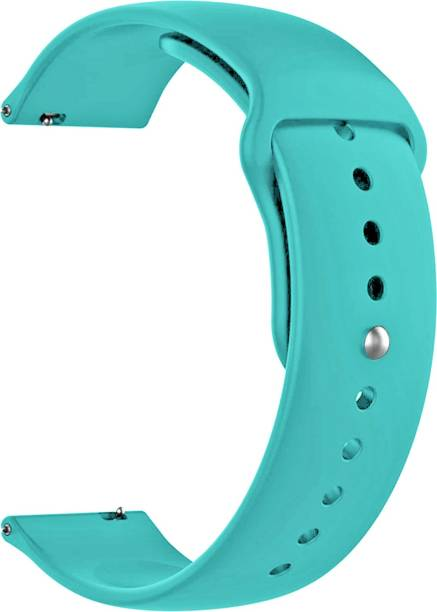 ACM Watch Strap Silicone Belt 22mm Compatible with Connected X Hybrid ( Smartwatch Sports Band Light Blue) WSM2P22LBL1214N1 Smart Watch Strap