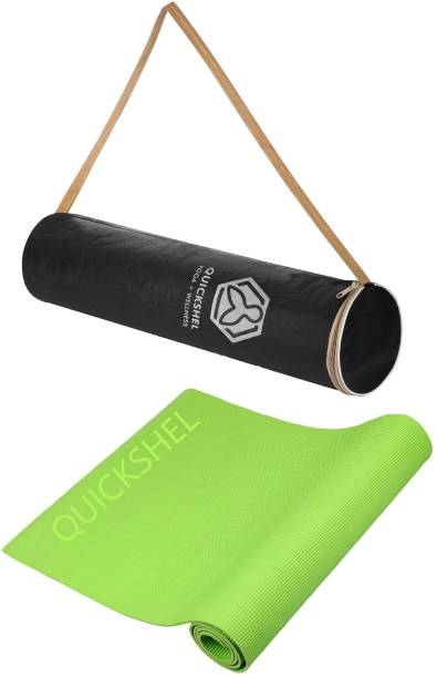 Quick Shel 100%EVA Eco Friendly Green 6 mm Yoga Mat
