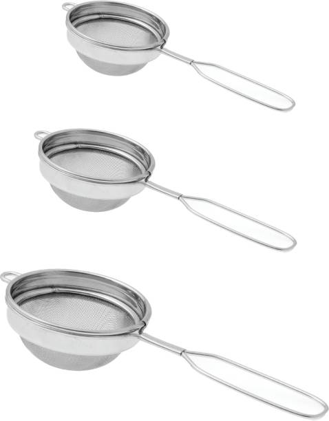 Dynore Set of 3 Classic wire handle Tea Strainer