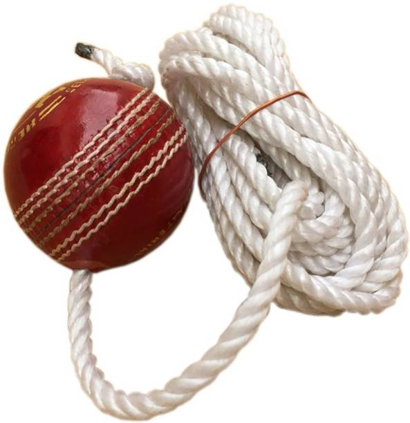 HIDE OUT Practice cricket ball in red colour pack of 1 Cricket Leather Ball