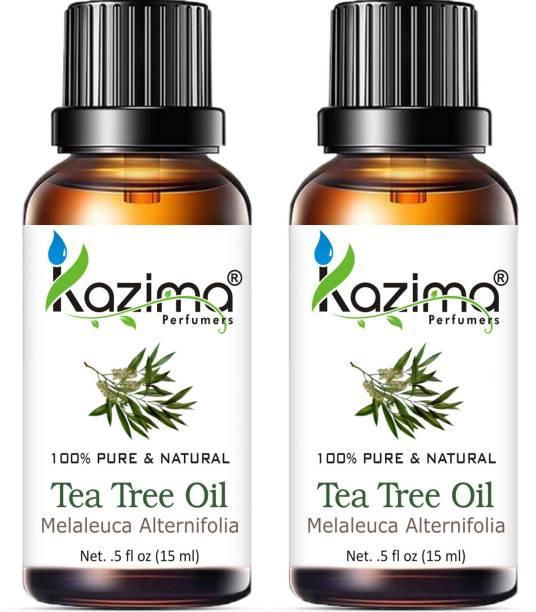 KAZIMA Tea Tree Essential Oil (15ML Pack of 2)