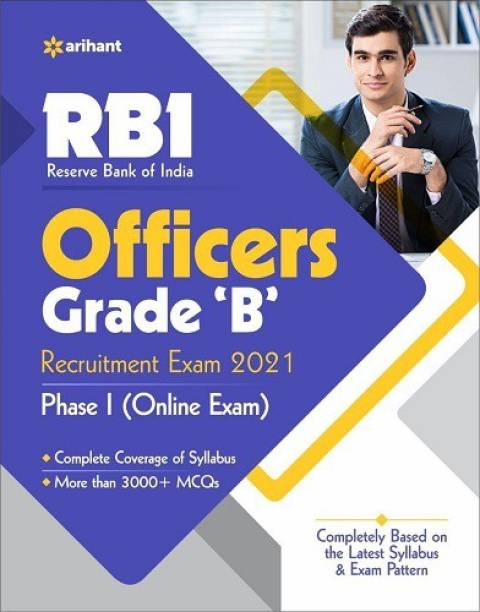 Reserve Bank of India Rbi Officers Grade B Exam 2021 Phase-1 ( Online Exam )