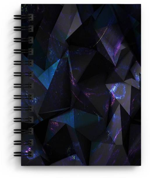 DI-KRAFT Handcrafted Cardbord Diary A5 Diary Unruled 160 Pages