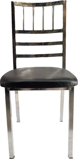 RW REST WELL RW- Swift Dining Chair, Black Metal Dining Chair