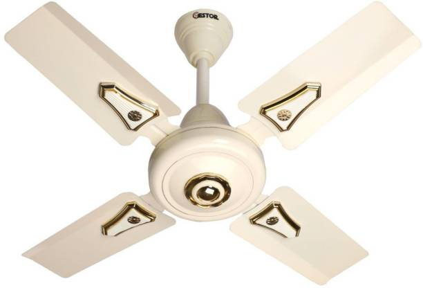 GESTOR MARCUS High Speed 24 Inch 600 mm Anti Dust 4 Blade Ceiling Fan
