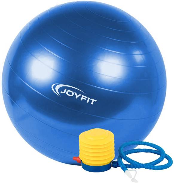 Joyfit Yoga Ball with Foot Pump, Anti-Burst, for Balance and Stability Gym Ball