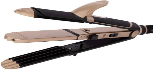 VEGA 3 in 1 Hair Styler-Straightener, Curler and Crimper (VHSCC-01) Pack of 1 Hair Styler