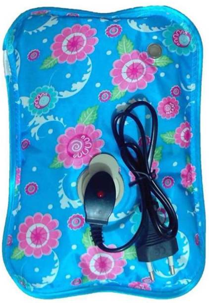 Ansh Electric Gel Warm Bag, Hot Water Bag, Heating Pad for Joint, Muscle Pain, Electric 1 L Hot Water Bag (Many Color And Designs) Electric 1 L Hot Water Bag