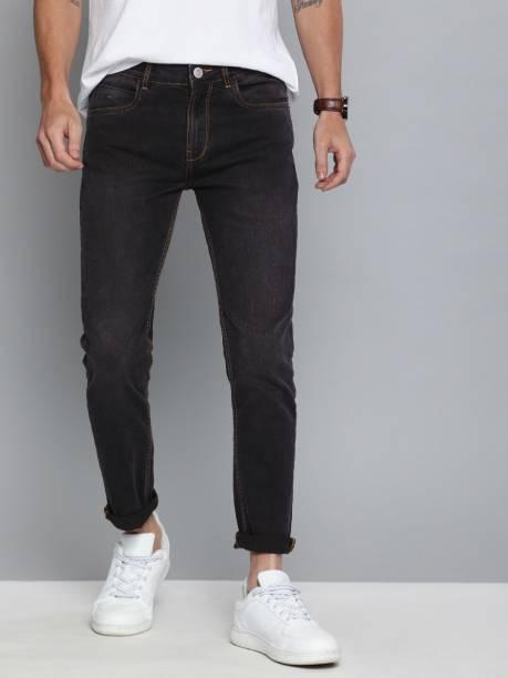 MAST & HARBOUR Skinny Men Black Jeans