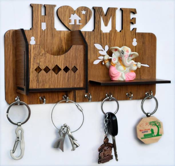Arpita Crafts HEARTHOME Wood Key Holder