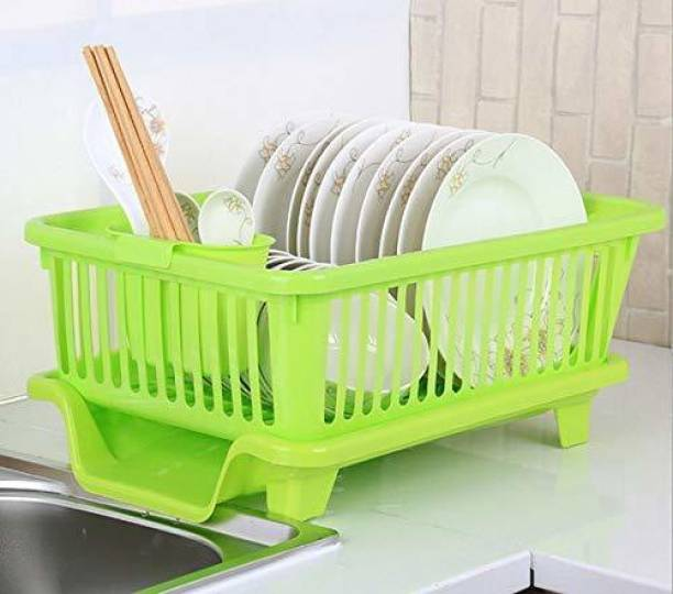 AXN large 3 in 1 drainer rack for kitchen Dish Drainer Kitchen Rack