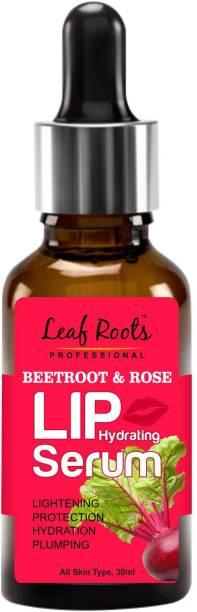 leaf roots Beetroot & Rose Lip Hydrating Serum Beetroot & Rose
