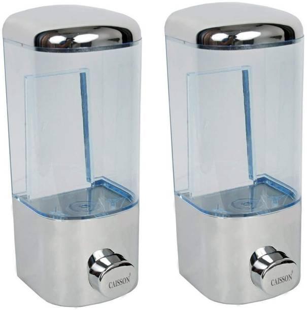 Caisson Push Button 500 ml Conditioner, Gel, Lotion, Shampoo, Soap Dispenser-set of 2 500 ml Gel, Lotion, Foam, Soap, Shampoo Dispenser