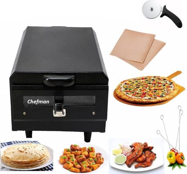 Chefman Electric Pizza maker, paneer tikka, naan, Omelette Maker, 2000 W Electric maker Pizza Maker