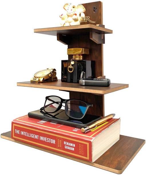 7CR Book Shelf (WB) Engineered Wood Open Book Shelf