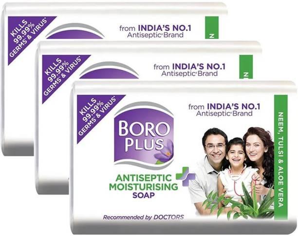 BOROPLUS Antiseptic Moisturising Soap 125gm Pack Of 3