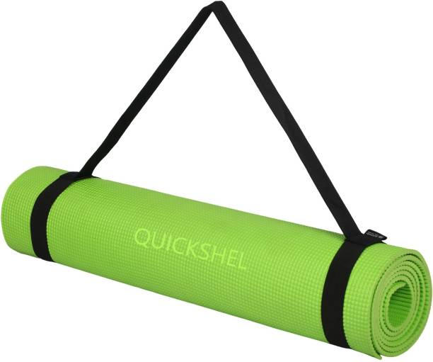 Quick Shel 100% EVA Eco Friendly Mat GREEN 8mm Yoga, Exercise & Gym Mat Green 8 mm Yoga Mat