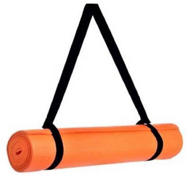 GROVERTEXOFAB ORANGE ANTI-SKID 6 MM WITH STRAP 6 mm Yoga Mat