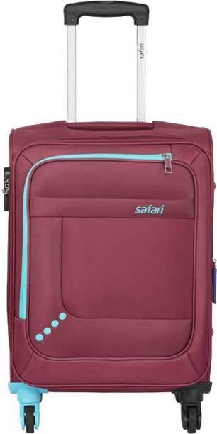 SAFARI STAR 55 4W RED Expandable  Cabin Luggage - 22 inch