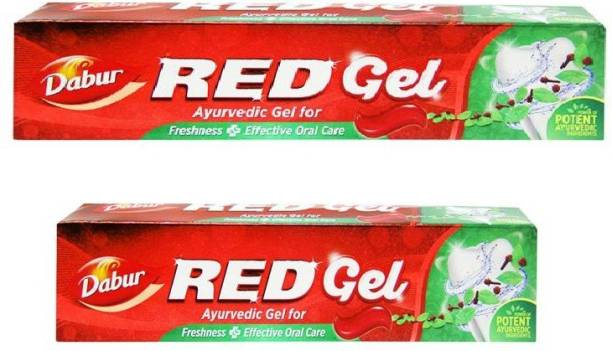 Dabur red gel ayurvedic toothpaste (pack of 80g and 150g) Toothpaste