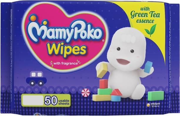 MamyPoko Wipes with Green Tea Essence