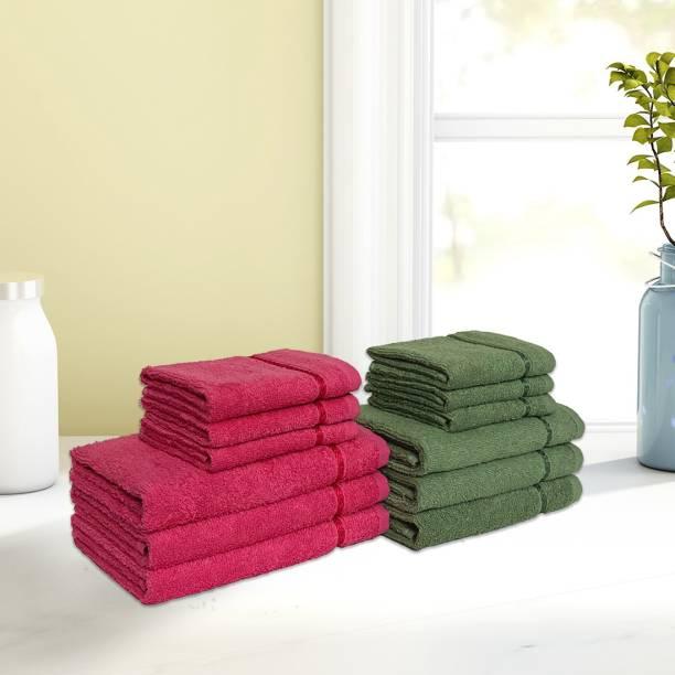 CORE Designed by Spaces 12 Piece Cotton Bath Linen Set