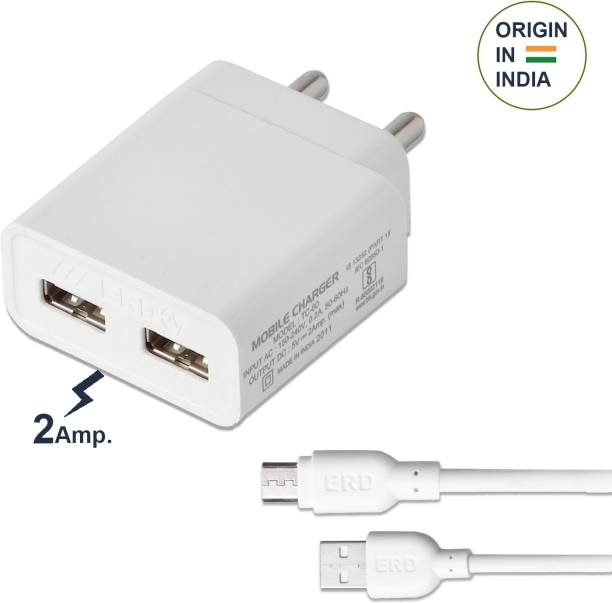 ERD TC-65_MICROUSB 18 W 2.4 A Multiport Mobile Charger with Detachable Cable