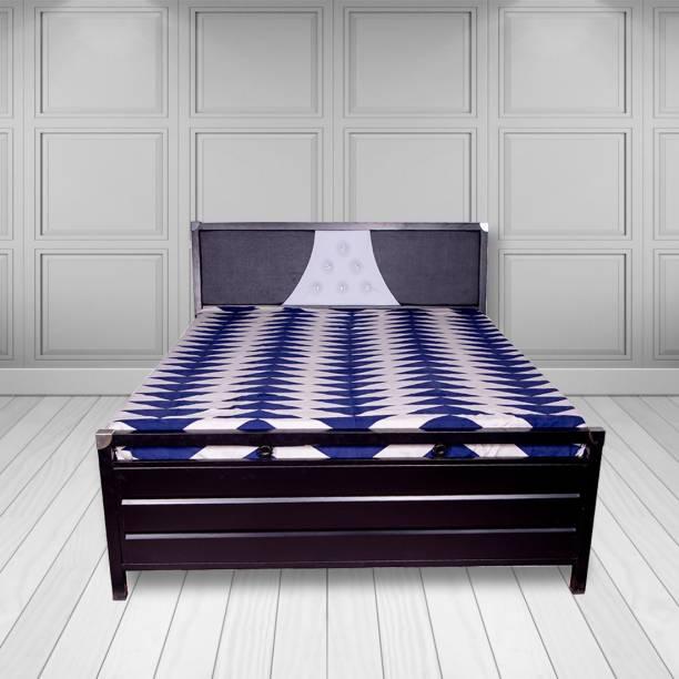 ROYAL METAL FURNITURE (5 Inch Mattress) Metal King Hydraulic Bed