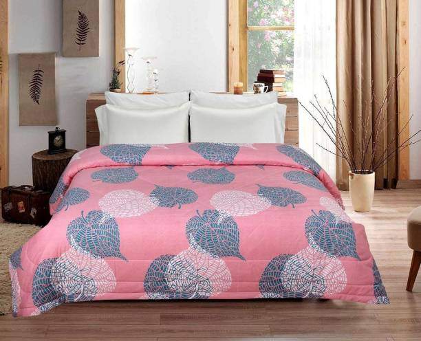 VAS COLLECTIONS Floral Double AC Blanket
