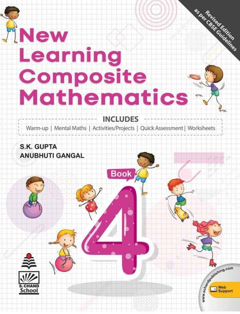 New Learning Composite Mathematics-4 (for 2021 Exam) with 2 Disc