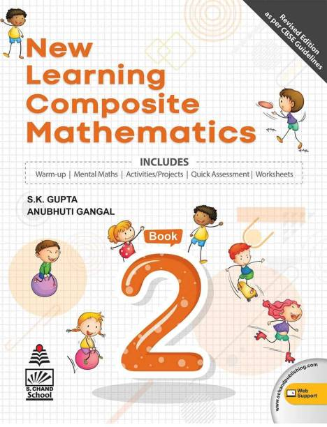 New Learning Composite Mathematics-2 (for 2021 Exam) with 2 Disc