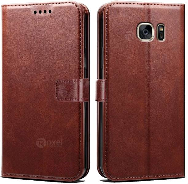 Roxel Wallet Case Cover for Samsung Galaxy S7 Edge