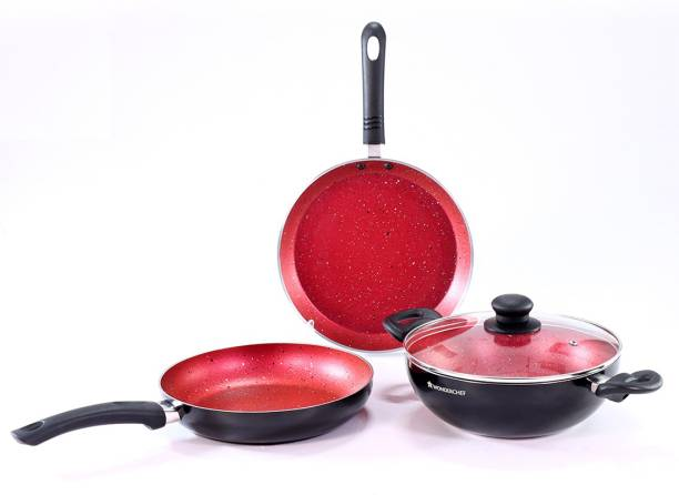 WONDERCHEF Ruby Induction Bottom Cookware Set
