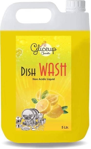 Gliceup Dishwash Liquid Gel Lemon, With Lemon Fragrance, Leaves Dish Cleaning Gel