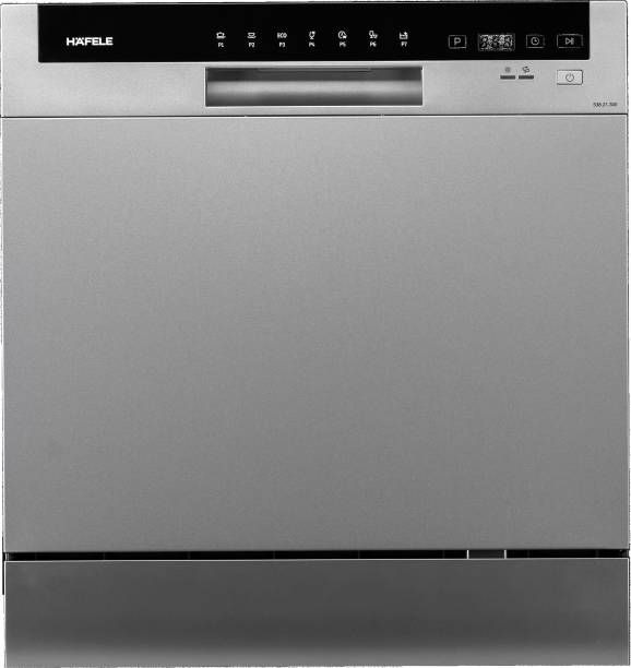 Hafele 538.21.300 Free Standing 8 Place Settings Dishwasher