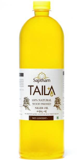 Saptham Taila 100% Wood Pressed / Cold Pressed Niger Oil PET Bottle