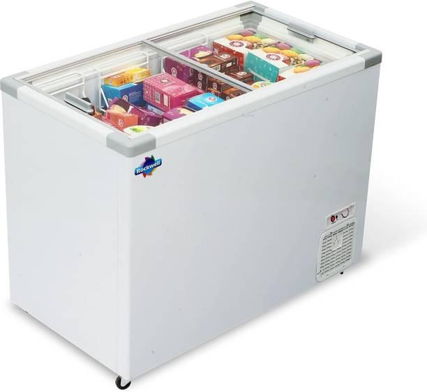 Rockwell 350 L Double Door Standard Deep Freezer