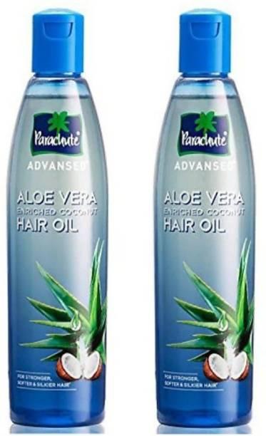 Parachute Advansed Advanced Aloe Vera Enriched Coconut Hair oil 250ml (Pack of 2) Hair Oil