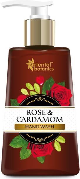 Oriental Botanics Rose & Cardamom Hand Wash Hand Wash Pump Dispenser